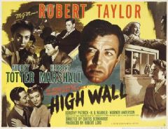 High Wall 1947 DVD - Robert Taylor / Audrey Totter